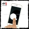 Professional mobile phone cleaner,sticky cleaning cloth,silicone screen cleaner
