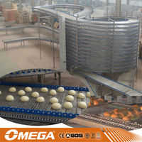 snack food cooling machine /pastries cooling tower