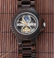 Vogue Handmade Natural Wood Watch Relojes Hombre Mechanical Watch