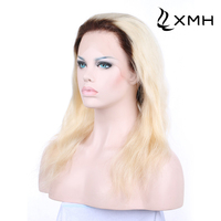 Alibaba Factory Price Virgin Natural European Hair Full Lace Wig