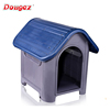 Factory hot selling New design Luxury plastic outdoor pet house dog house