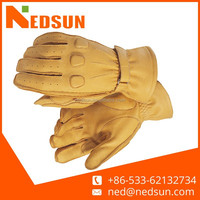High quality cow leather custom leather gloves for driving