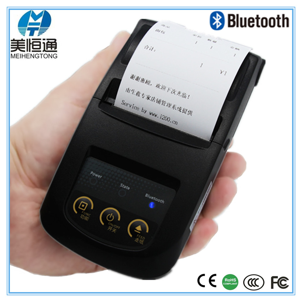 cheap MHT-5800 protable android bluetooth thermal <strong>printer</strong> for receipt