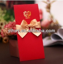 Custom Luxury red packet For Wedding & Festive Wholesale Best Selling One