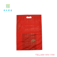 Thicken Manufacturers, wholesale Gold Printing plastic shopping bags plastic bag printing custom clothing