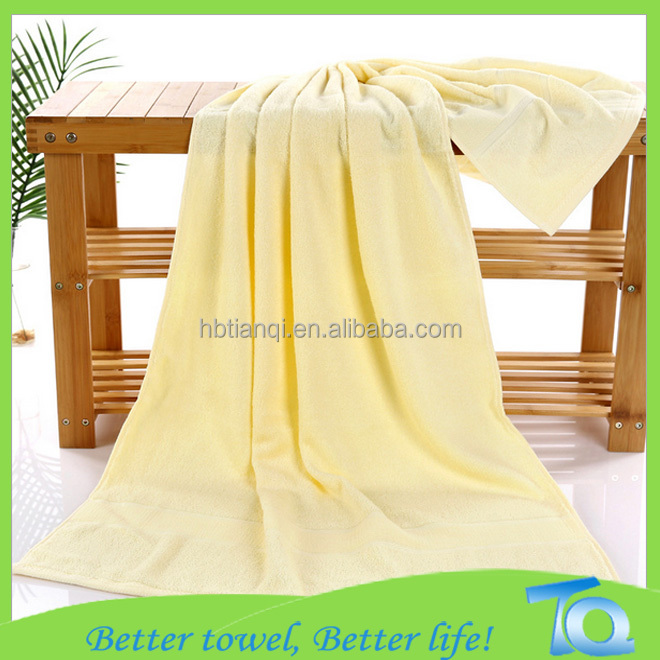Wholesale Standard Size Bath Towel Bamboo For Women