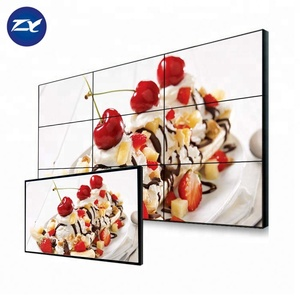 55 Inch Super 4K Lcd Video Wall Display Screen For Advertising