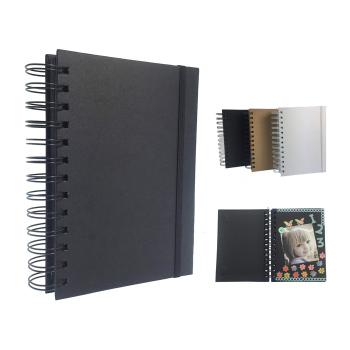 OEM 5x7 Black color Wire-O scrapbook album