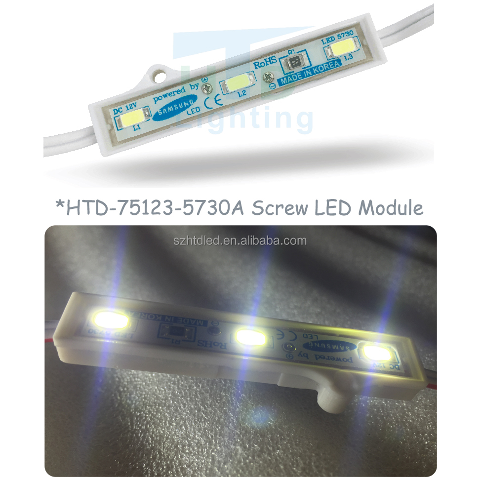 High Quality DC12V IP67 Epoxy glue Led Module 5730 SMD Led For Channel Letter
