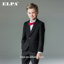 ELPA NXB0097 slim black fancy 3 piece designer kids boys suits