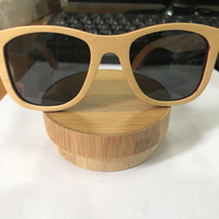 2018 handmade colorful skateboard bamboo sunglasses as gift for men women custom logo