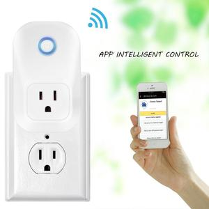 WIFI SMART WIRELESS PLUG POWER SOCKET WORKS WITH GOOGLE HOME & AMAZON ALEXA for CHRISTMAS Lights