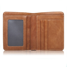 Stylish Men's Top Grade Genuine Leather Multi Card Holder Travel Wallet