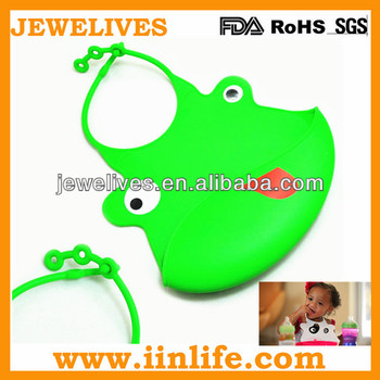 Popular silicone waterproof adult baby bib