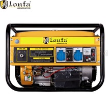 China Hot Sale 6000W single phase 188f GX390 13hp AC Gasoline Generator silent portable petrol generator 6kw