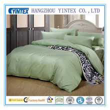 Pure Cotton Bed Sheet Sets Customized Color