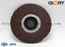 hardware importer industrial glass cutting tools red oxide radial flap disc