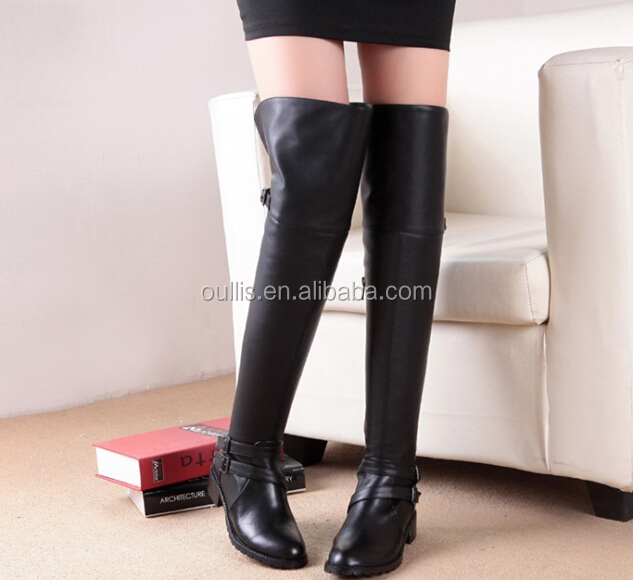 Factory cheaper woman over knee boots N-HP815