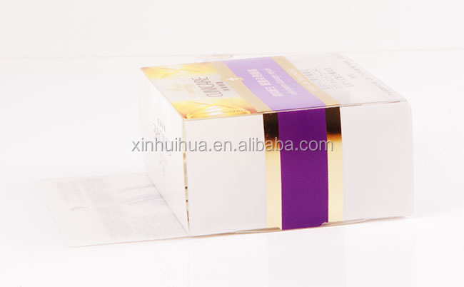 Hot selling transparent plastic soap packaging box
