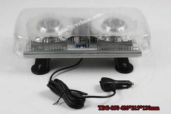 24W LED mini Light Bar/12v Truck Strobe Mini Light Bar/Emergency Security Light Mini BarTBG-850-2