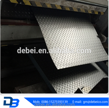 Alibaba supplier Q235 material decorative pattern mild steel plate price with good quality