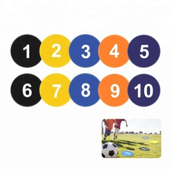 Wholesale Flat Spot Markers for Basketball Soccer Drills and Training, Speed Agility Training Starter, Multi Color