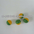 "0.68"" hybird color paintball balls bullet in paintball gun for players use"