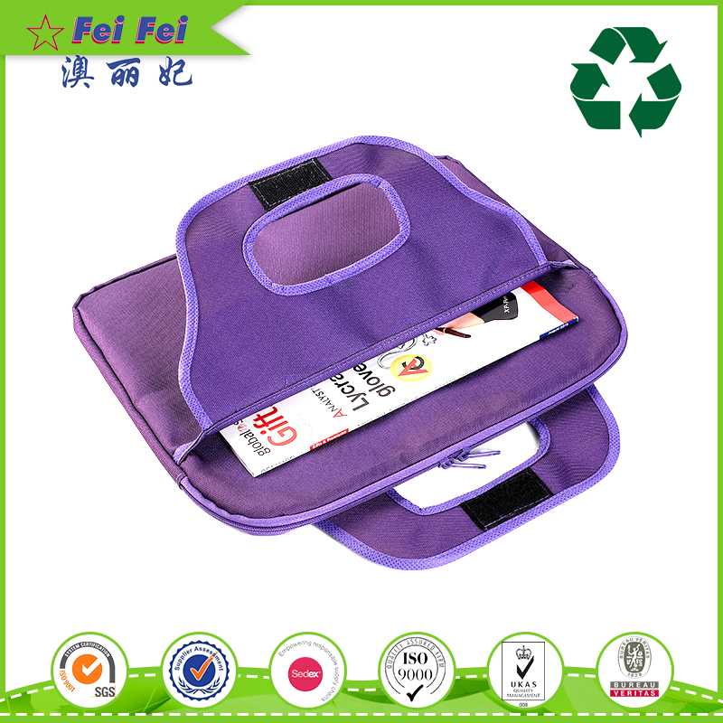 High quality purple womens laptop bag