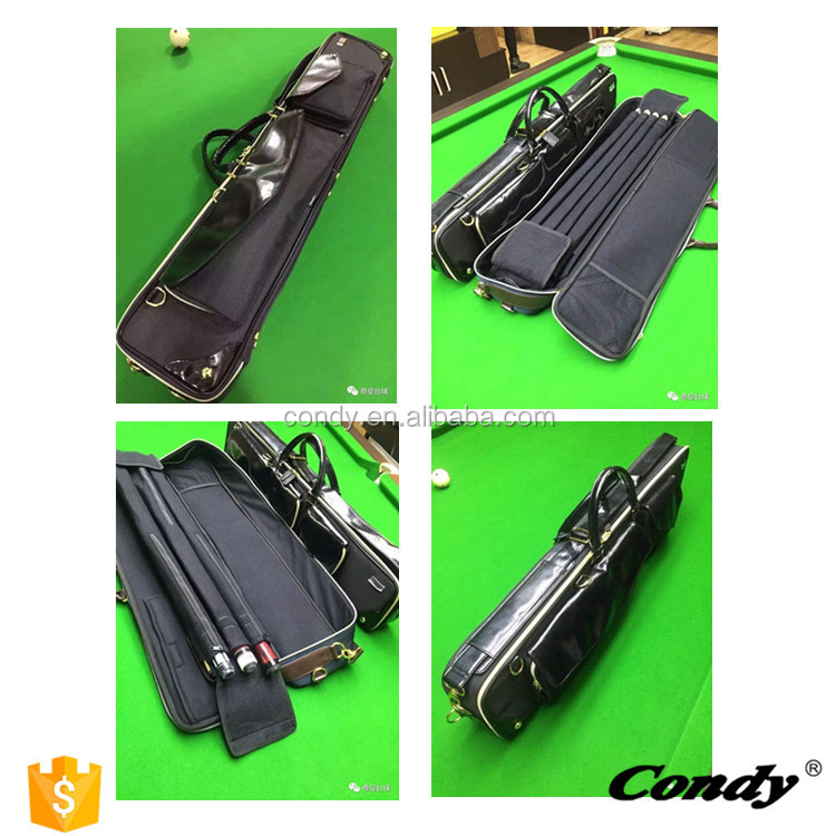 Modern Style cue pool case peri 2/4 snooker case