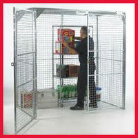 29ft height galvanized metal pallet cages
