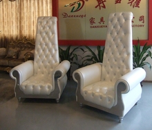 special use Italy white Romantic chairs with customization