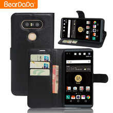 Attractive Appearance flip wallet leather phone case for lg v20 mini