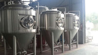 Stainless Steel Fermentation Tank, Beer Container,beer brewing equipment
