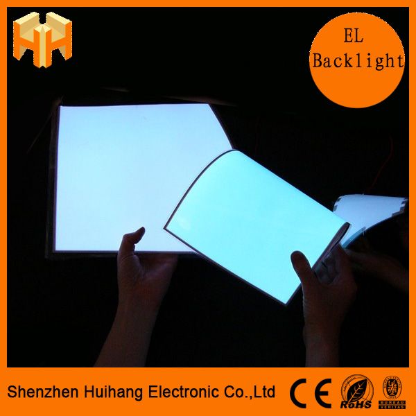 High Quality Advertising EL Sheet , EL Backlight , EL Backlit Multi Color