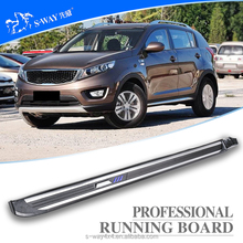 Hot sale factory direct sale SUV foot plate side for sportage r running board
