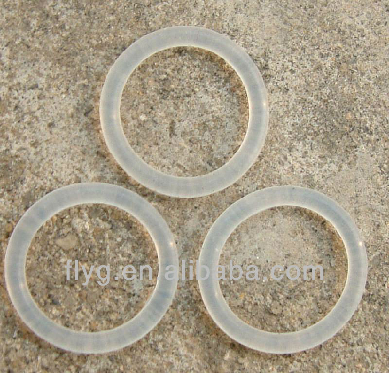 Clear Food Grade Silicone/NBR Rubber Seal O Ring