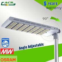 70W LED 7500 Lumens / 300W solar poly panel Solar Powered LED Street Lights