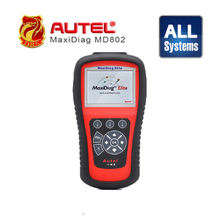 [Autel] Update On-Line autel maxidiag elite md802 md 802 Engine + Transmission + ABS and airbag