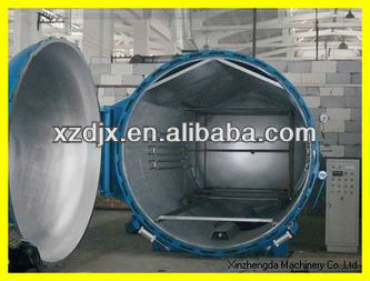 autoclave for tire retreading