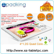 quad core tablet Android4.0 tablet 10.1 inch android 3g tablet