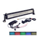 Double Row 5D Lighting12 22 32 42 52 Inch Car Rgb Truck Strobe Led Light Bar
