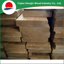 Eco-Friendly Raw Wood Materials Corner Fillet Triangle Wooden Timber