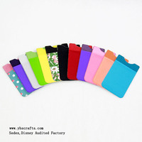 Wholesale Custom 3m fabric+Microfiber+lycra+pvC cell Phone