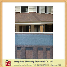 Economical Asphalt Roofing Shingle for wood house roofs