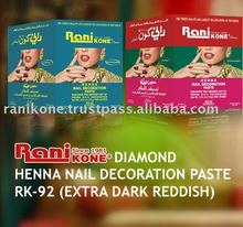Henna Nail Decoration Paste RK-92