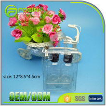 promotional plastic makeup bag pvc clear bag with zipper
