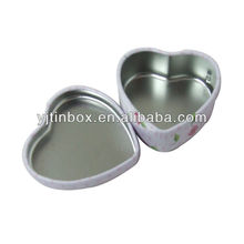 heart shaped gift metal tin boxes
