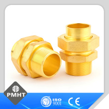 Popular product factory wholesale brass forged Pipe fitting connector