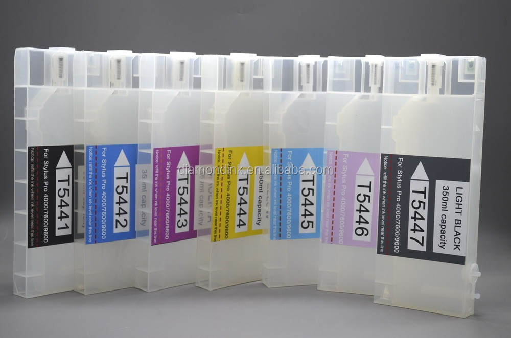 Refill Ink Cartridge For Epson 4000 Refillable Ink Cartridge With Chip