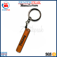 Fashionable Wholesale Promotional Cheap Custom Made Decorative Metal Key Chain For Gifts